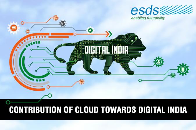 Contribution of Cloud towards Digital India