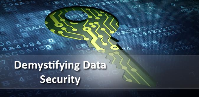 Demystifying Data Security