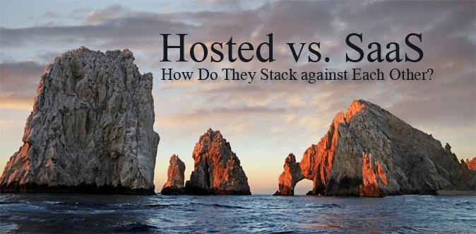 Hosted vs SaaS