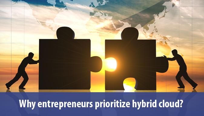 Entrepreneurs Prioritize Hybrid Cloud