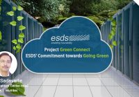 Project Green Connect- An environment friendly initiative by ESDS