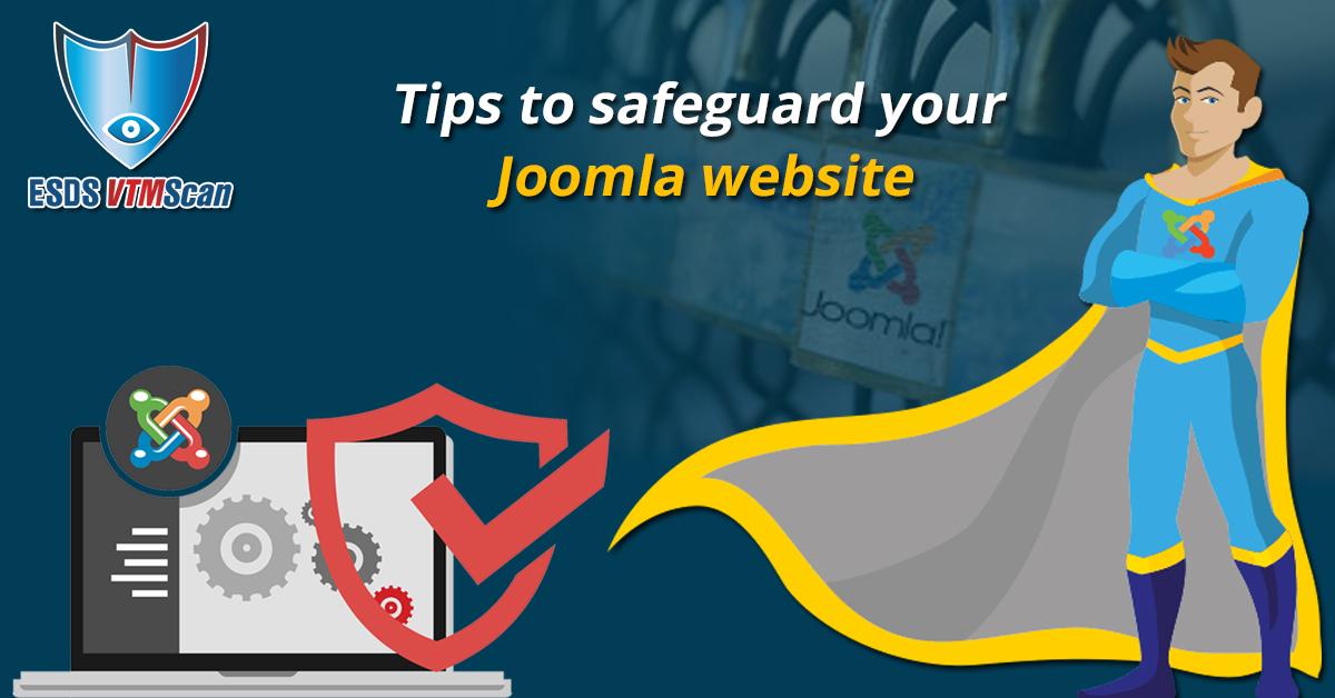 Tips to safeguard your Joomla website