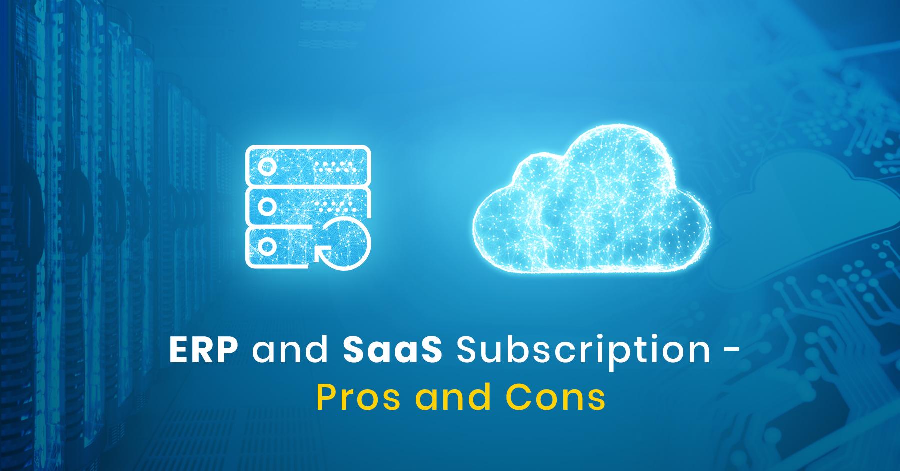 Saas Cloud Subscription