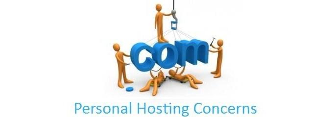 Personal-Hosting-Concerns