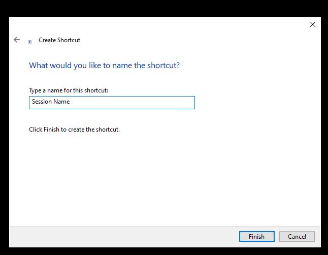 Create Windows Shortcut 6