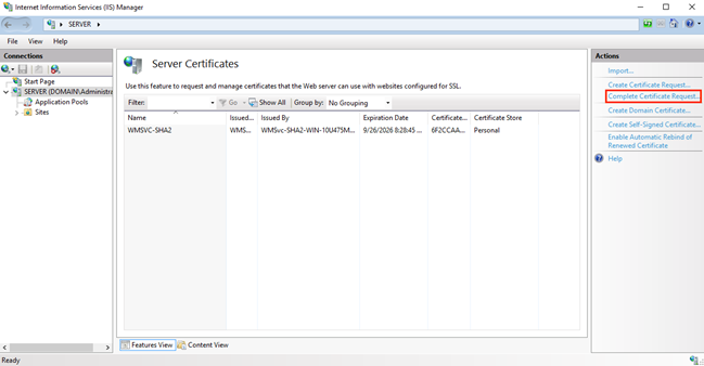 How to Install and Configure Your SSL Certificate on Windows Server 8